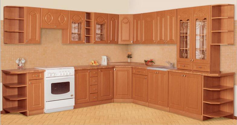 Корпусную мебель для кухни