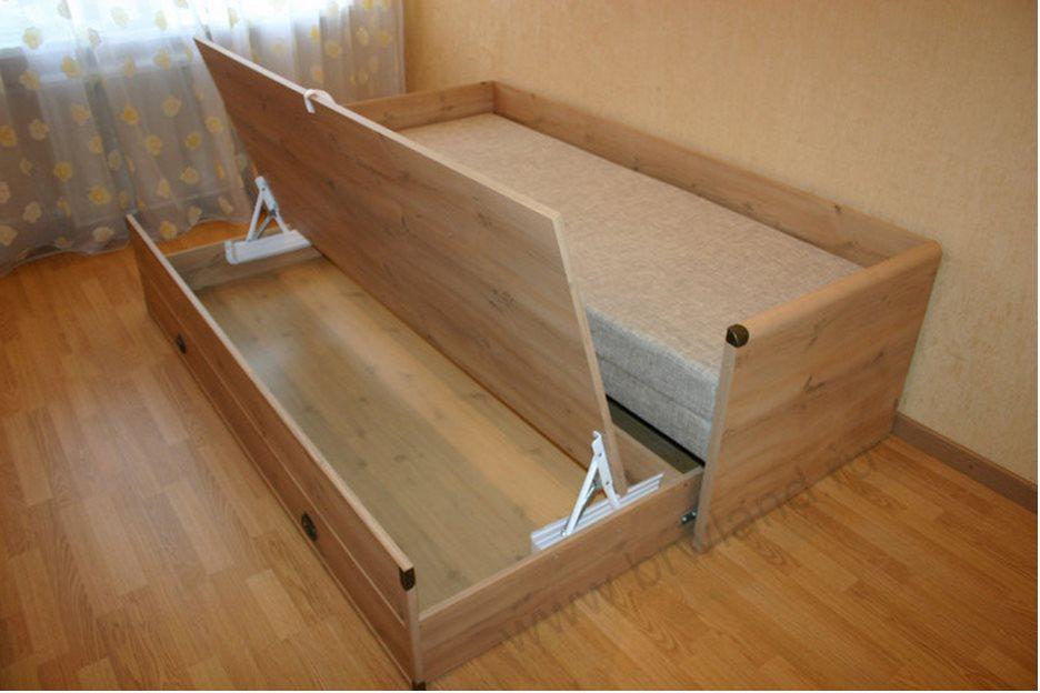 Как сделать раздвижную кровать своими руками 75