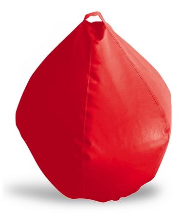 Кресло-груша BUBBLE red