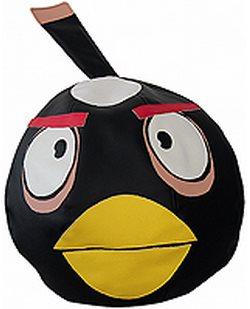 """Бескаркасный пуфик """"Черная птица"""""""