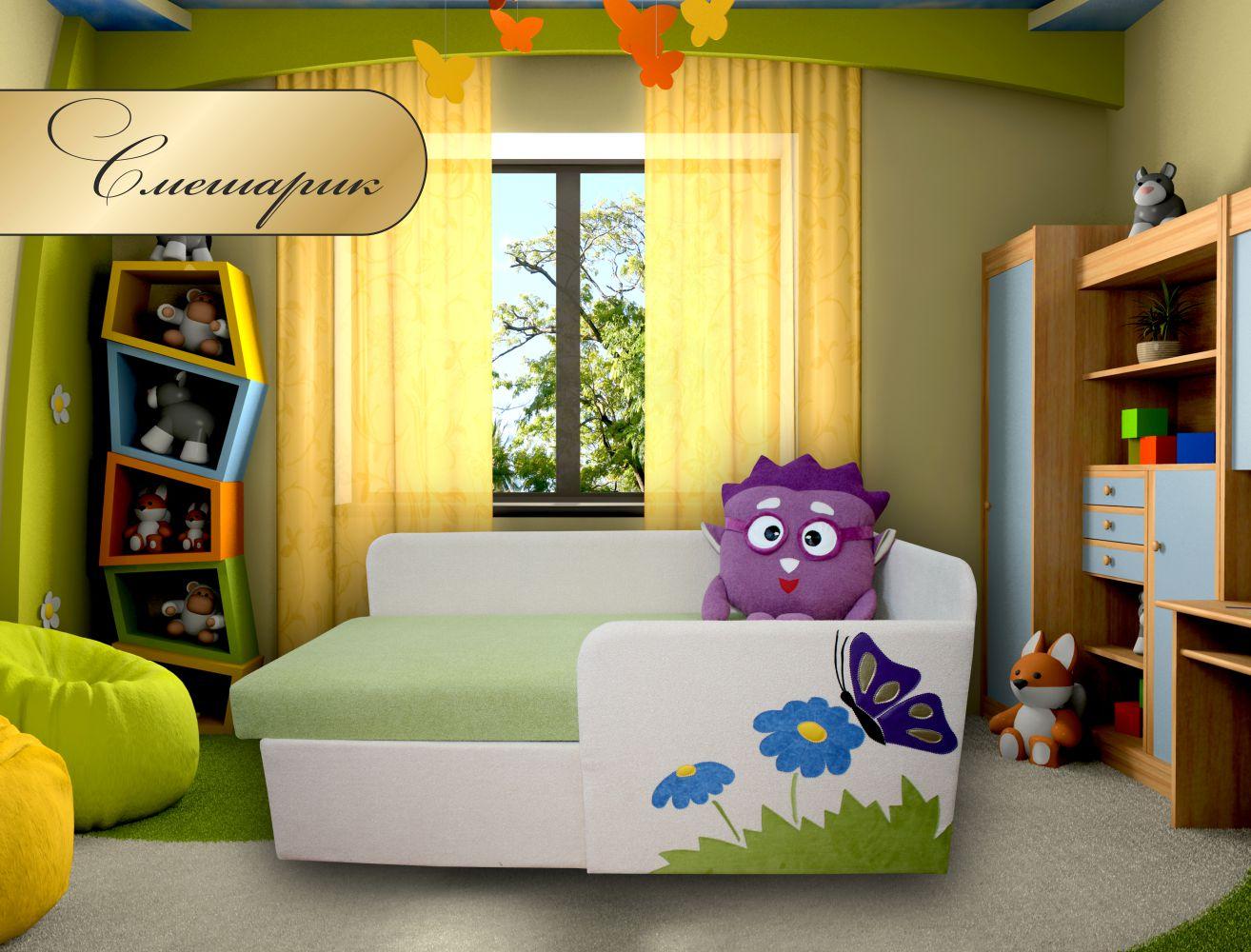 """Детский диван малютка """"Смешарик"""" МКС"""