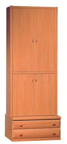 Шкаф бельевой с подставкой БОРИС С