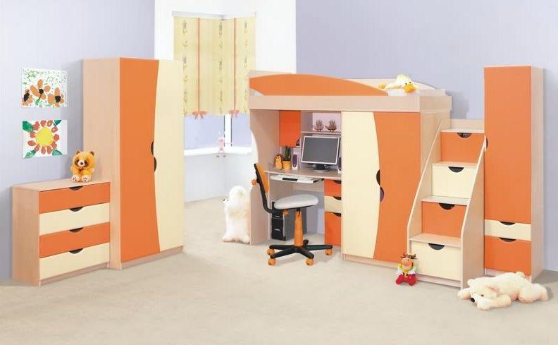 """Детская мебель """"САВАНА ОРАНЖ"""" СМ"""
