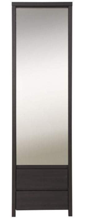 Шкаф с зеркалом SZF 1D2S P КАСПИАН