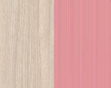 дуб светлый belluno / розовый