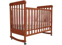 Детская кроватка СОНЯ ЛД-12 Верес (ольха)