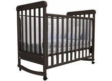 Детская кроватка СОНЯ ЛД-12 Верес (орех)
