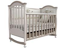 Детская кроватка СОНЯ ЛД-3 Верес (капучино)