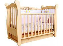 Детская кроватка СОНЯ ЛД-15 маятник Верес (бук)
